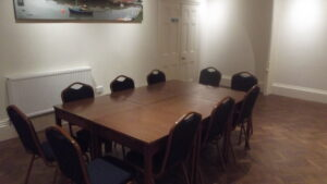 The Harwich Masonic Hall Hire Table and Chairs