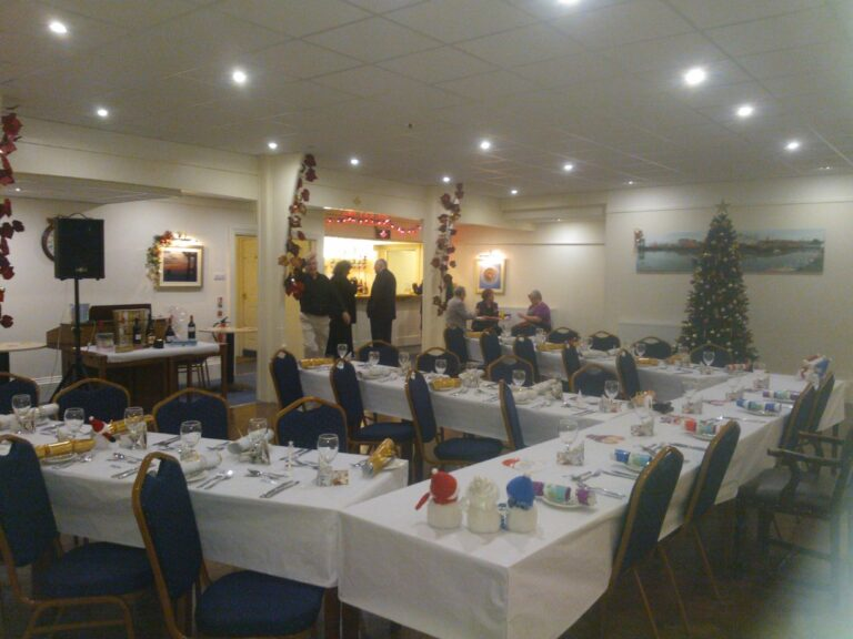 The Harwich Masonic Hall Dining Area